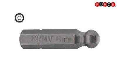 Embout tête ronde Inbus 1/4 -25mmL 7/32