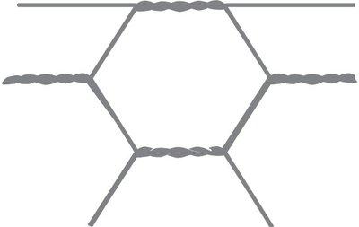 Maille hexagonale Avigal 40x0,9 75 cm x 50 m